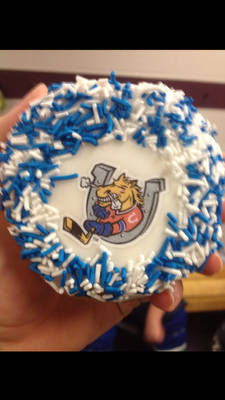 Barrie Colts Donut - Tim Hortons