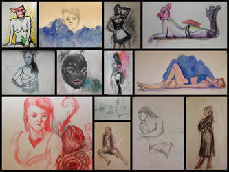 Dr Sketchy's by my-ain-sel