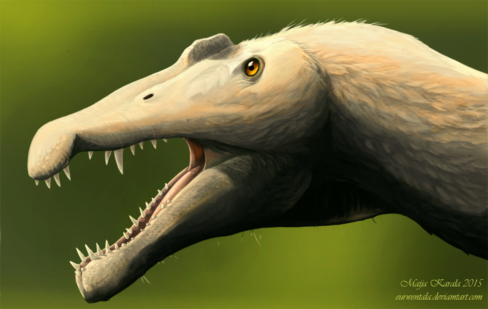 One Huge Otter by Eurwentala
