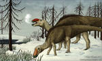 Rudolph the Red-Nosed Hadrosaur