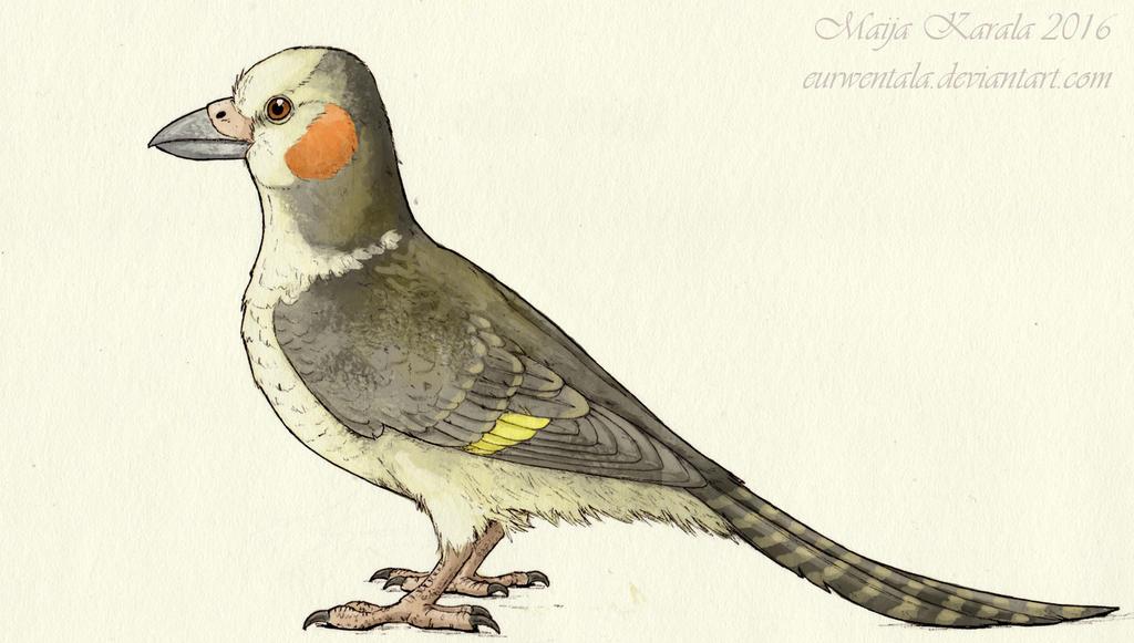 Green River Parrot by Eurwentala