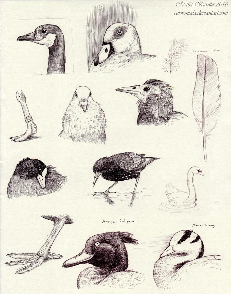 London Sketching 1 by Eurwentala