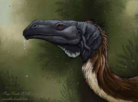 Plateosaurus by Eurwentala