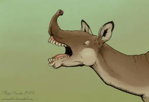 Odd Beast by Eurwentala