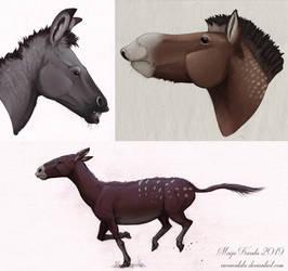 Forest Horses by Eurwentala