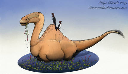 Deinocheirus Feast