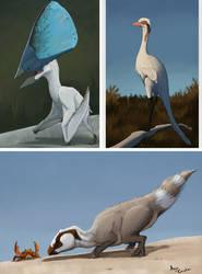 Cretaceous Speedpaints