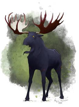 Demonic moose