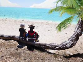 Kingdom Hearts 3 : Destiny Island by project-zero5