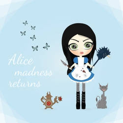 Alice Madness Returns by cskellington