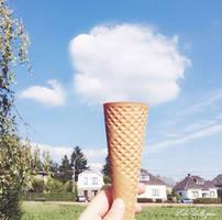 Cloudy Ice Cream by cskellington