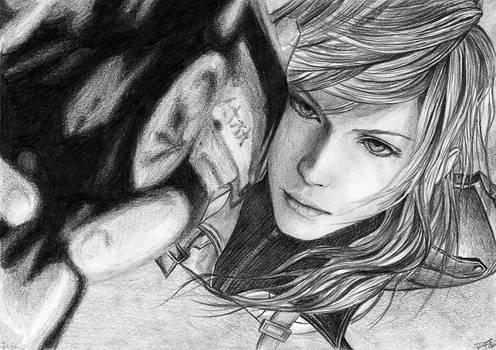 Final Fantasy XIII - Girl1