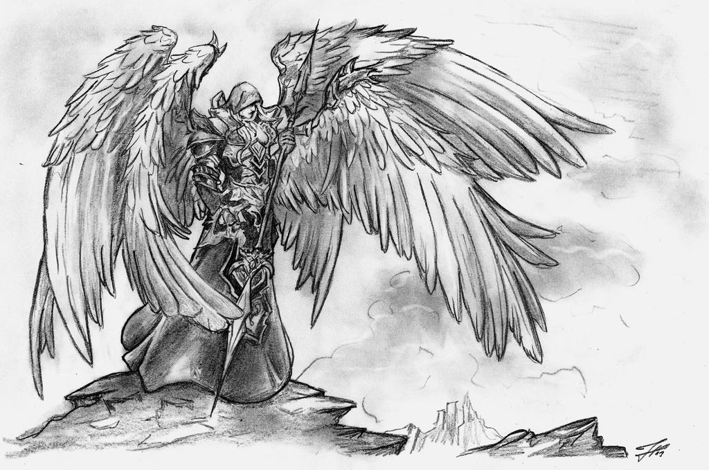 Angel-Warrior by chillerofhell on DeviantArt