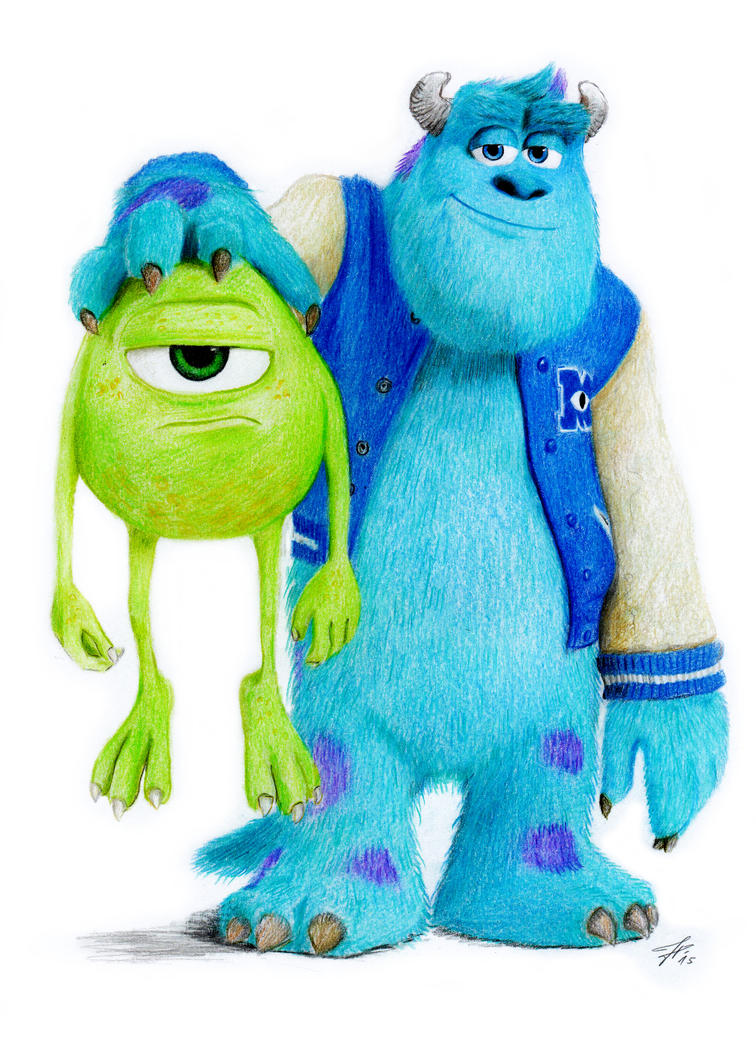 Mike and Sulley by chillerofhell