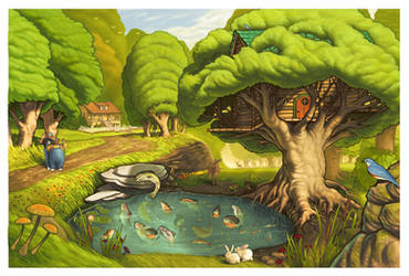 Wondabubba Flyer by JamesCreations