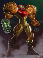 Samus is BACK by JamesCreations