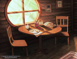 Wondabubba Dining Room by JamesCreations