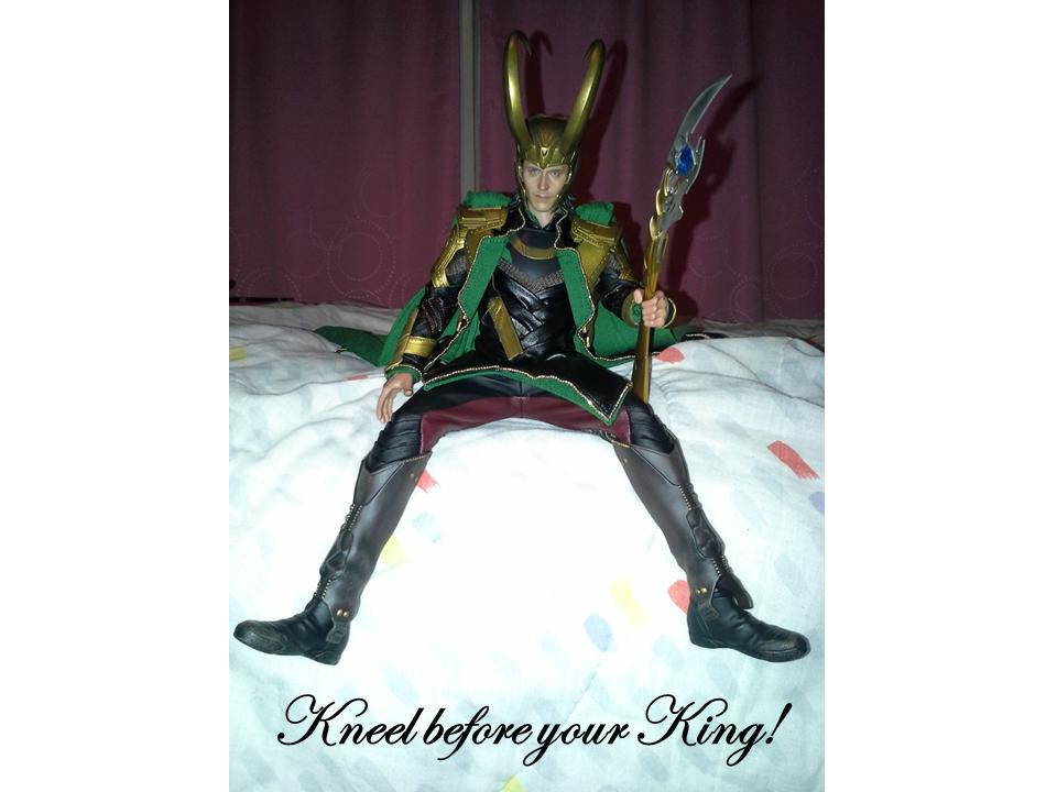 Kneel before your King by JDLuvaSQEE