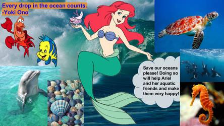 Saving The Oceans by JDLuvaSQEE