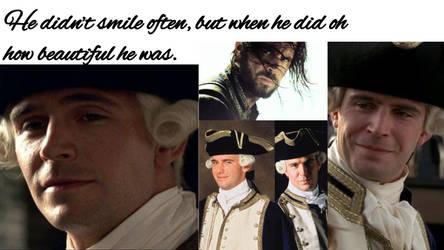 James Norrington Smile by JDLuvaSQEE