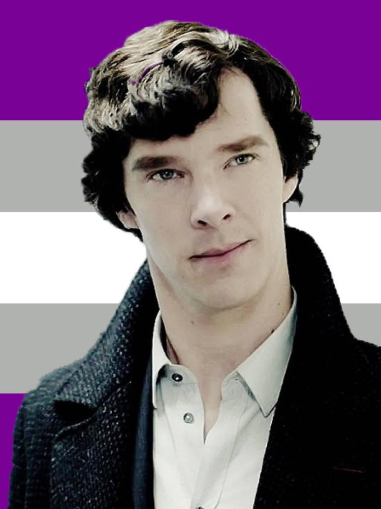 Graysexual Sherlock Holmes by JDLuvaSQEE