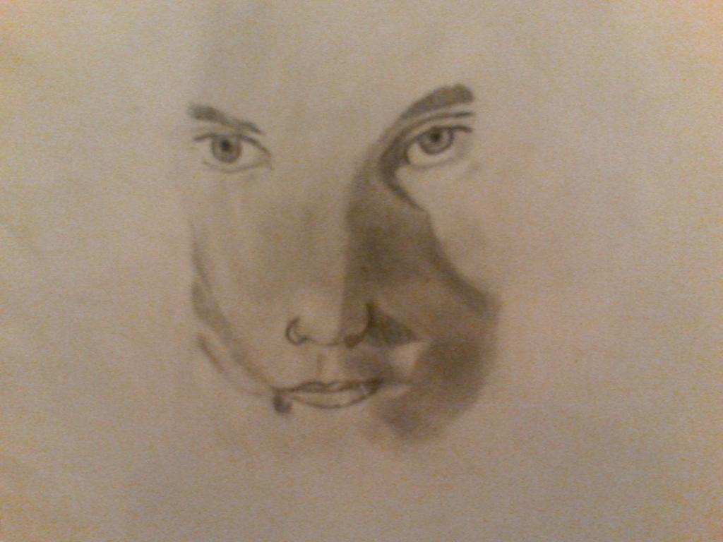 Frank Iero Eyes Drawing