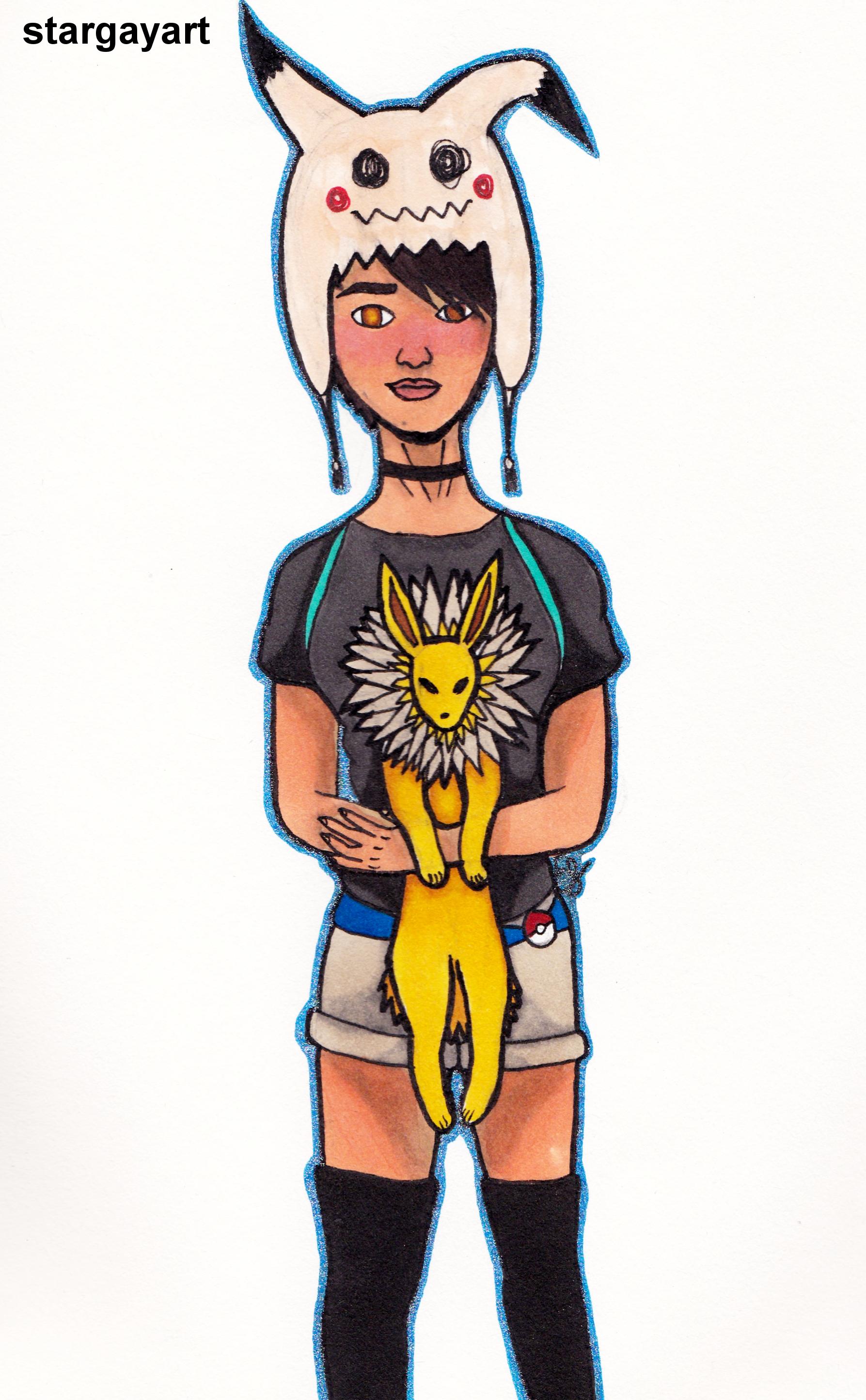 Pokemon Trainer by stargayart