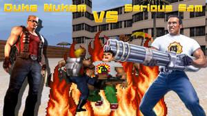 Duke Nukem VS Serious Sam by Crankd