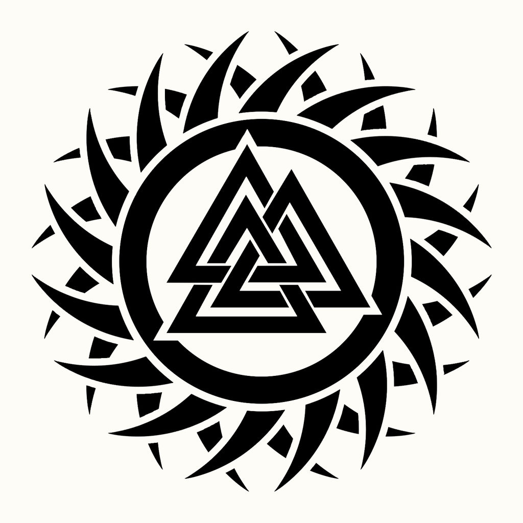 Tribal Valknut Tattoo Concept by KeithCapeesh on DeviantArt