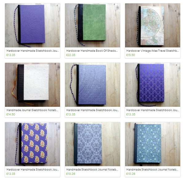 Scorpio Bindery - Handmade Books by cheerfulscorpion