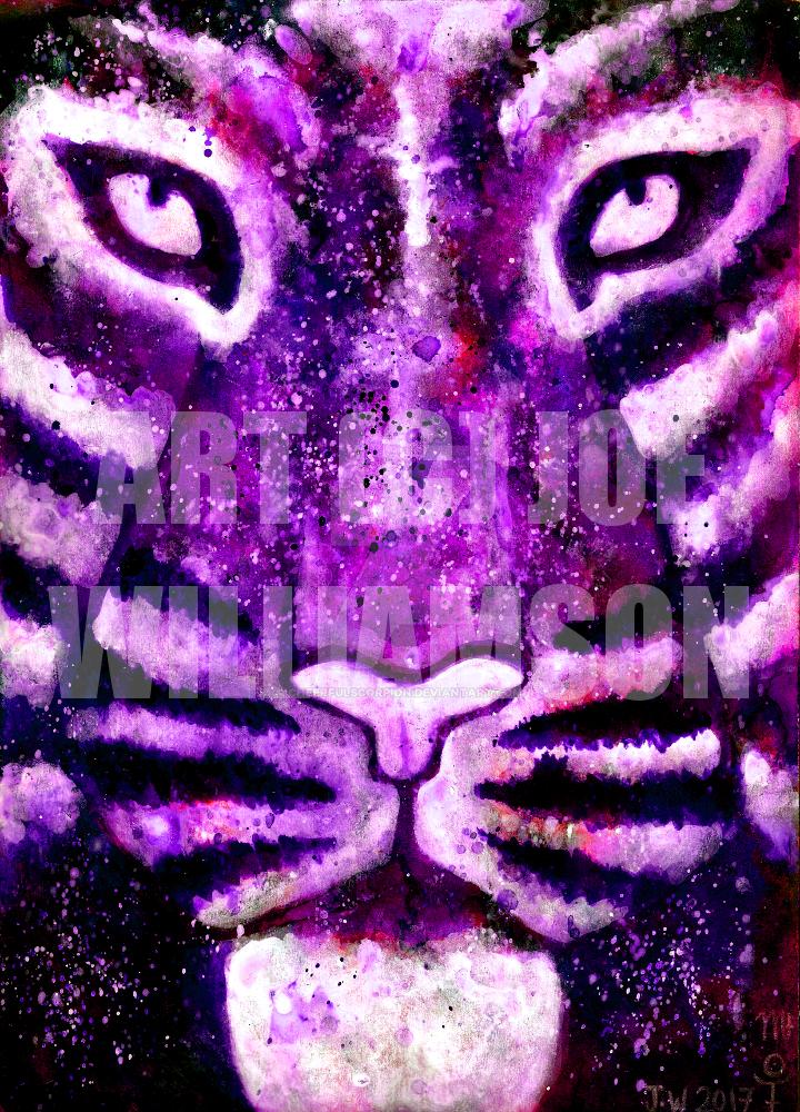 Spirit Tiger by cheerfulscorpion
