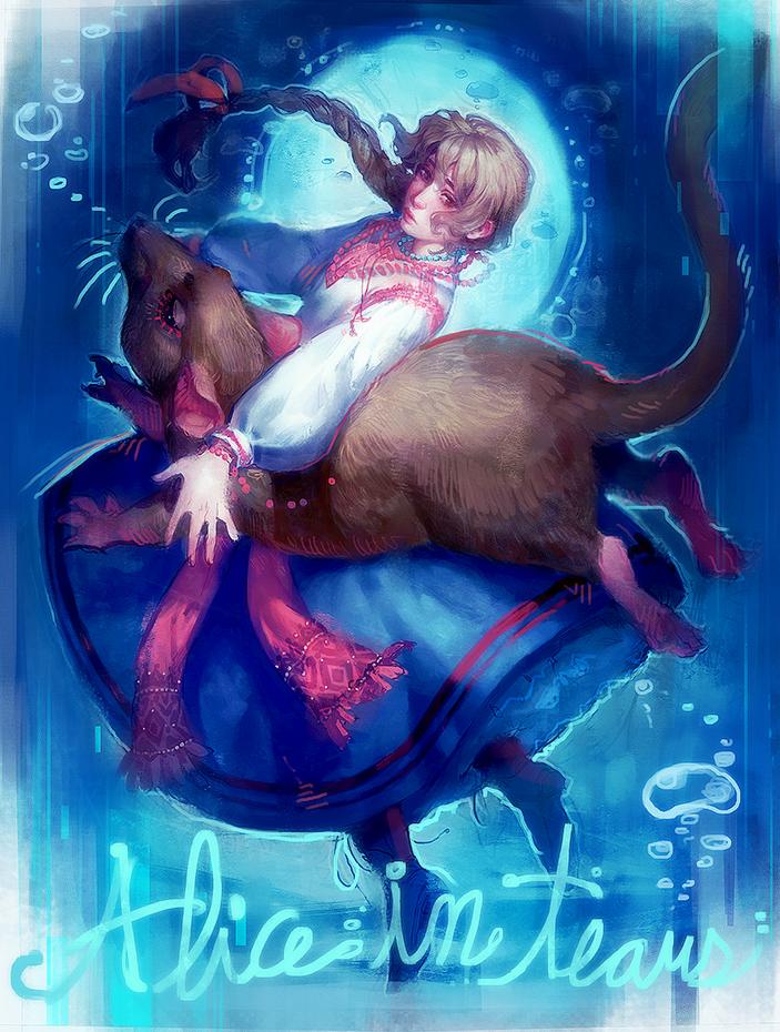 Rewritten Artbook :: Alice in Tears by MartaLaz