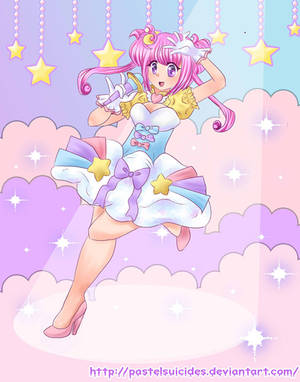 Mink Cyber Kawaii Idol by PastelSuicides