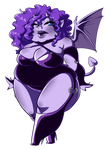Day 10: Succubus by Meb90