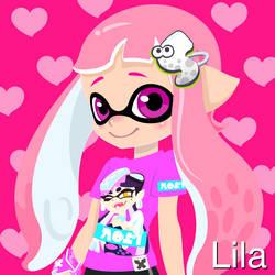 If Lila was in Splatoon by ilovemixels