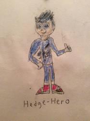 Me as HedgeHero by ilovemixels