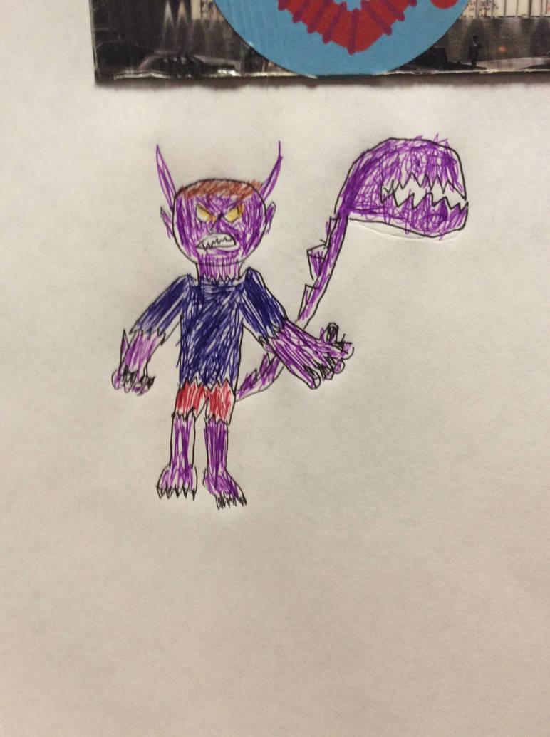 My monster form by ilovemixels