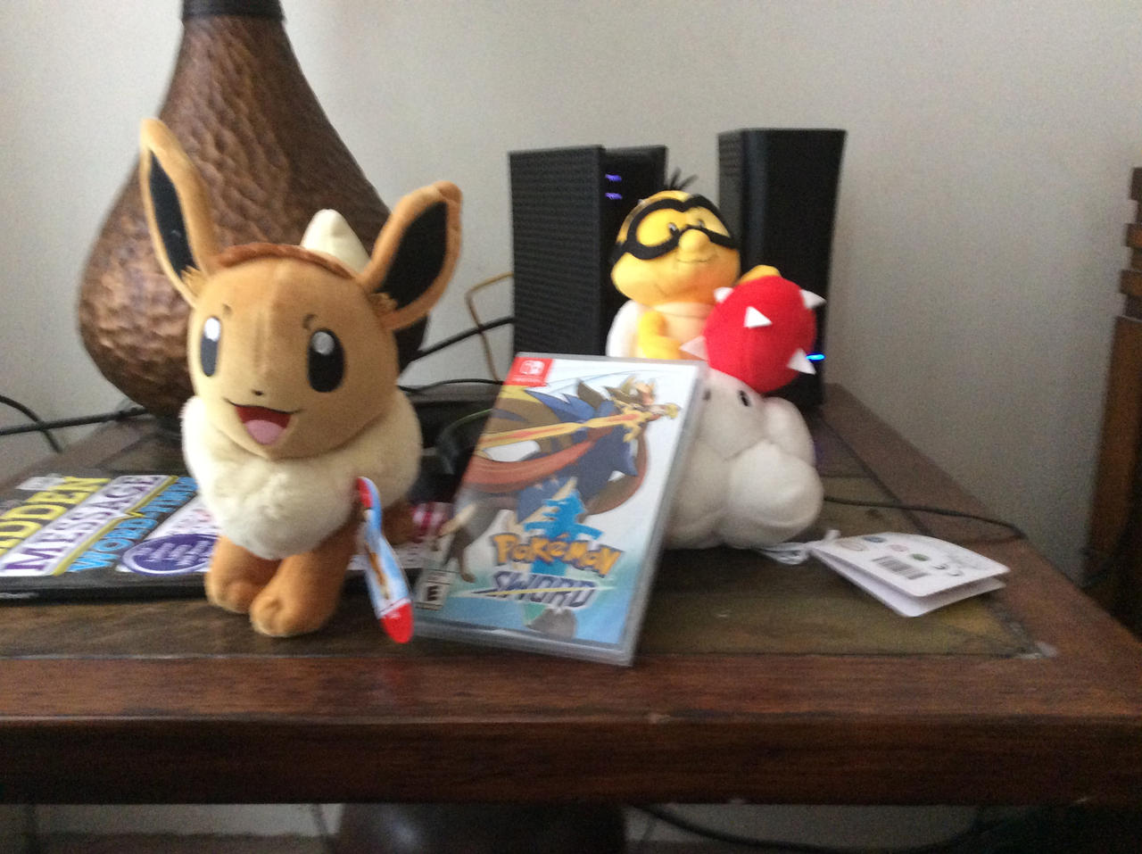Two New Plushies And A Video Game By Ilovemixels On Deviantart