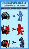 Rockman X Adoptables- Set 1