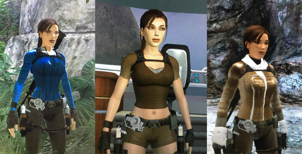 Tomb Raider Underworld Mod Legend Outfit Pack By Tombraiderwes