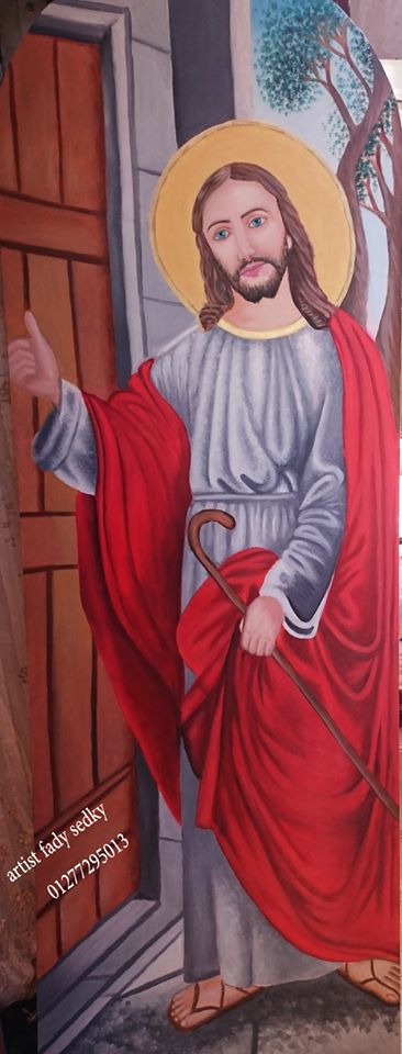 jesus knocking on the door by fady-sedky ...  sc 1 st  fady-sedky - DeviantArt & jesus knocking on the door by fady-sedky on DeviantArt pezcame.com