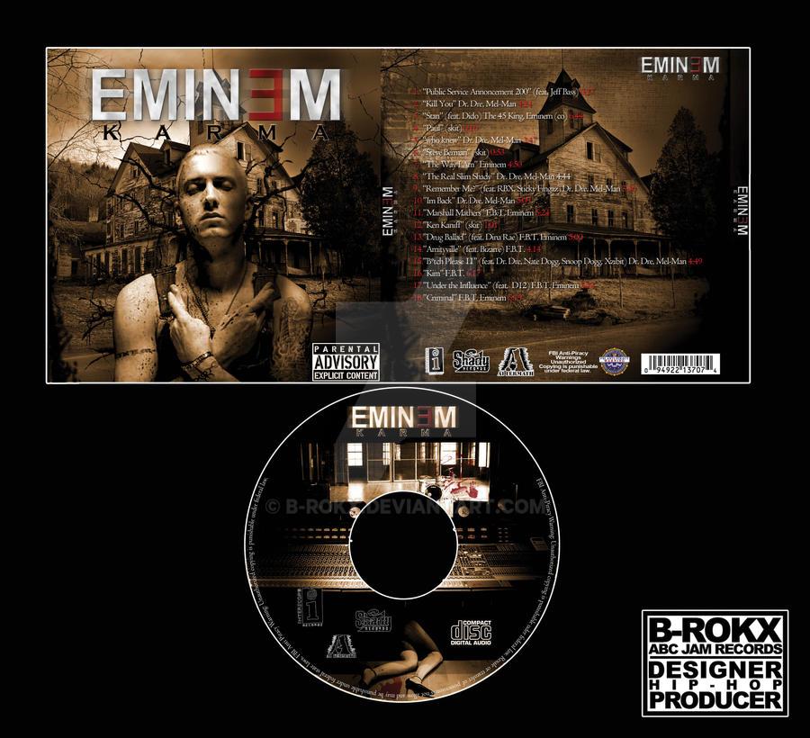 Eminem CD Cover School Project by b-rokx on DeviantArt