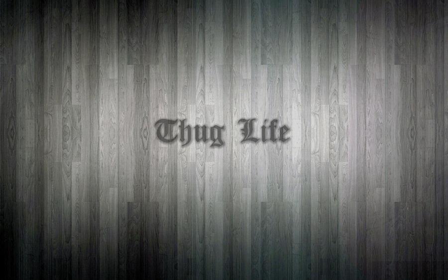 Thug Life Wood Wallpaper By V-E-G-A On DeviantArt