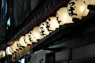 Gion Lanterns by tilldawn