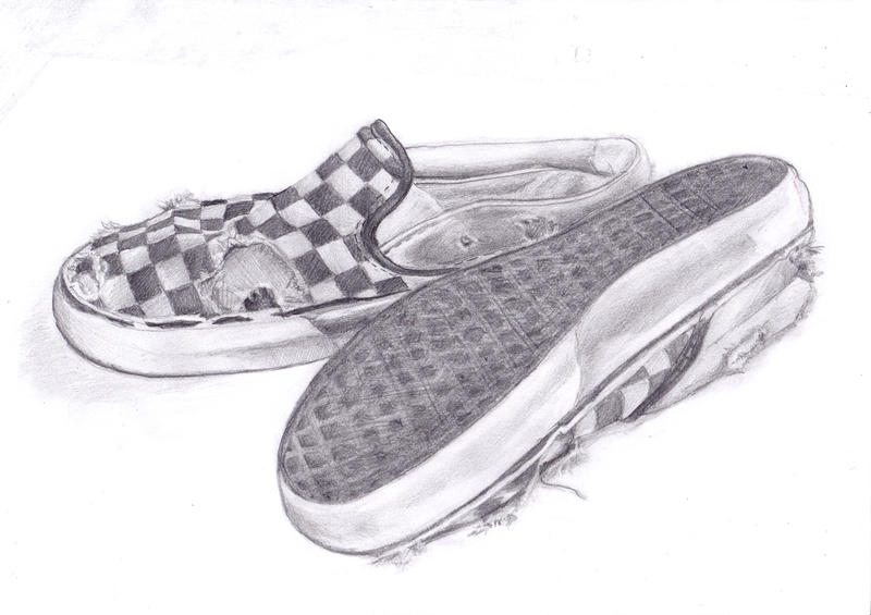 vans shoes drawing. old vans by neonova shoes drawing o
