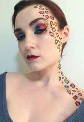 Leopard Lady Take 2 by sweetgreychaos