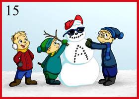15- Snowman by BoredStupid100