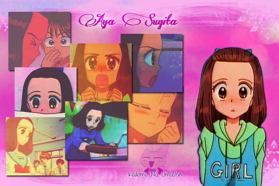 Aya Sugita_wallpaper by stellinabg