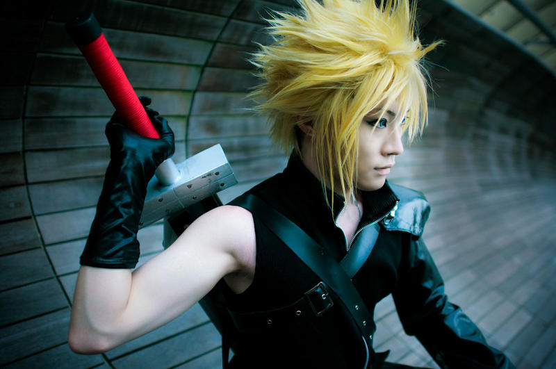 Cloud, cosplay