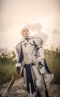 Fate/Prototype   Saber 2 by naokunn